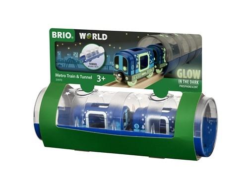 Zdjęcie BRIO Metro Świecące w Ciemności z Tunelem