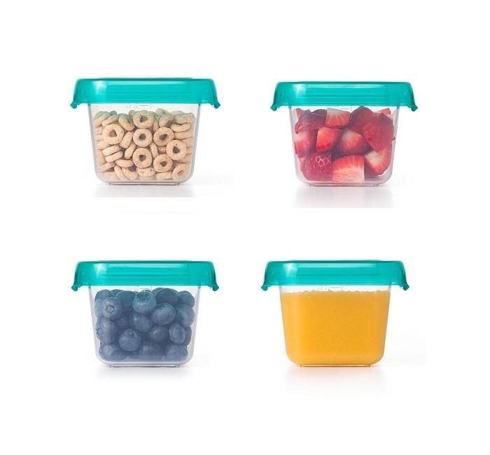 Zdjęcie OXO Pojemniki do Zamrażania Żywności 4szt
