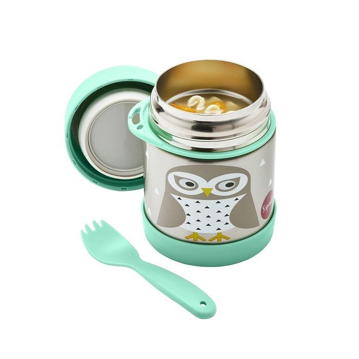 Zdjęcie 3 Sprouts Termos Dla Dzieci Sowa Mint