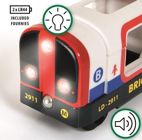 Zdjęcie BRIO World Metro Światła i Dźwięk