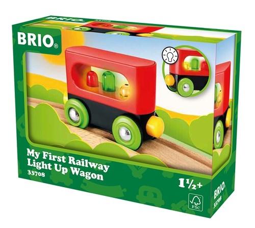 Zdjęcie BRIO Mój Pierwszy Wagon ze Światłem