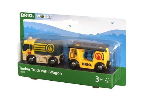 Zdjęcie BRIO World Cysterna z Wagonem