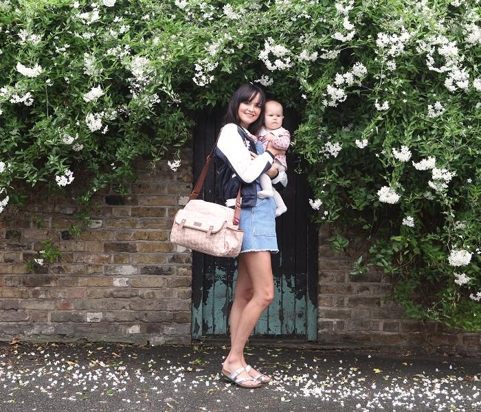 Zdjęcie Babymel Torba dla Mamy Molly Pink Floral
