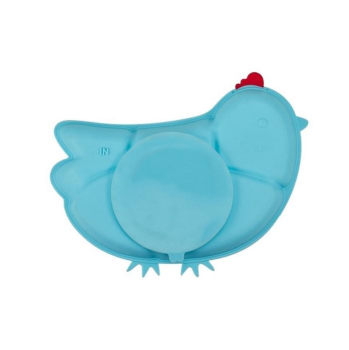 Zdjęcie Innobaby Talerzyk z Przyssawką Chicken Blu