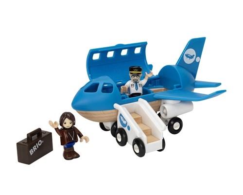 Zdjęcie BRIO World Drewniany Samolot Pasażerski