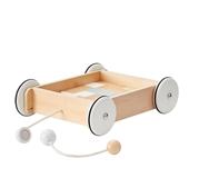 Kids Concept Neo Wózek Drewniany z Klockam