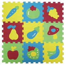 Ludi Piankowe Puzzle Owoce 1052