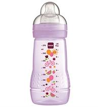 MAM Butelka Baby Bottle 270ml 2+ Fioletowa