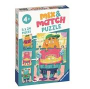 Ravensburger Mix&Match Puzzle Potworki