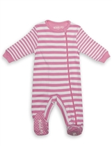 Juddlies Pajacyk Sachet Pink Stripe 12-18m