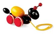 BRIO Zabawka do Ciągnięcia Mrówka