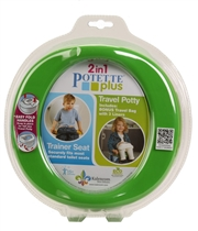 Potette Plus Nocnik Składany / Nakładka Z
