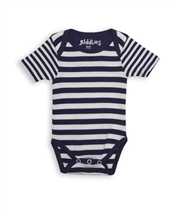 Juddlies Body Patriot Blue Stripe 0-3 m