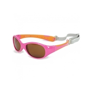 KOOLSUN Okulary FLEX Hot Pink Orange 0-3