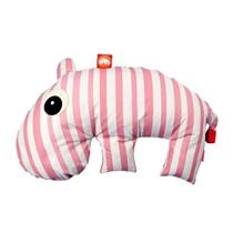 Done by Deer Poduszka 3 w 1 Hipopotam Róż