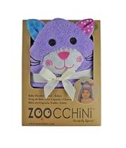 Zoocchini Ręcznik Mały Z Kapturem Kotek