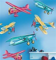 Wallies Dekoracja Wielkoformatowa Samoloty