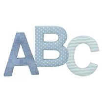Kids Concept Litery ABC Niebieskie
