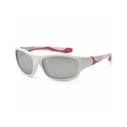 KOOLSUN Okulary SPORT White Cabaret 6-12