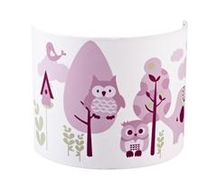 Kids Concept Lampa Kinkiet Sówki Różowy