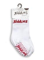 Juddlies Skarpetki White/Red 0-12 m