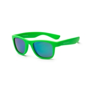 KOOLSUN Okulary WAVE Neon Green 1-5 lat