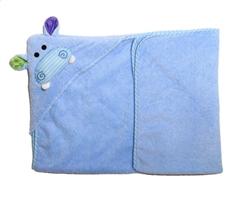 Zoocchini Ręcznik Mały Z Kapturem Hipopota
