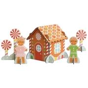 Petit Collage Puzzle Przestrzenne Domek