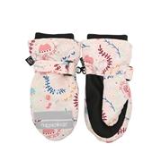 FlapJack Rękawiczki Dziecięce z Jednym Palcem Kwiaty M