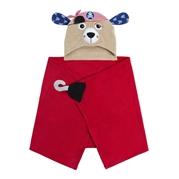 Zoocchini Ręcznik dla Dziecka z Kapturem Pirat Pedro