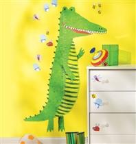 Wallies Naklejki Miarka Wzrostu Krokodyl