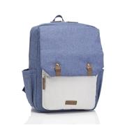 Babymel Plecak dla Taty George Blue/Oatmea