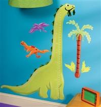 Wallies Naklejki Miarka Wzrostu Dinozaur