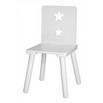 Kids Concept Krzesełko Z Gwiazdkami Białe
