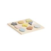 Kids Concept Puzzle Drewniane Kształty Geo