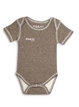 Juddlies Body Brown Fleck 3-6m