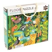 Petit Collage Puzzle Podłogowe Dżungla