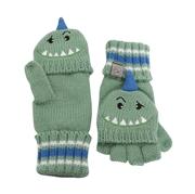 FlapJack Rękawiczki Dziecięce z Klapką Dinozaur L
