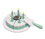 Kids Concept Tort Urodzinowy Niebieski