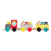 Petit Collage Zabawka do Ciągnięcia Pociąg