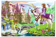 Melissa & Doug Puzzle Baśniowy Zamek