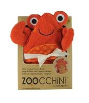 Zoocchini Ręcznik Mały Z Kapturem Krab