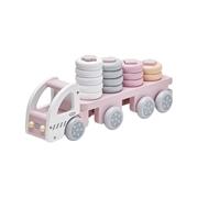 Kids Concept Ciężarówka z Klockami Pink