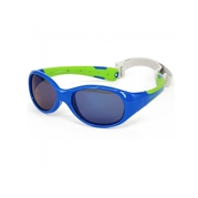 KOOLSUN Okulary FLEX Blue Lime 3-6 lat