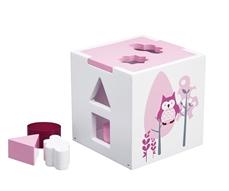 Kids Concept Sorter Drewniany Różowy