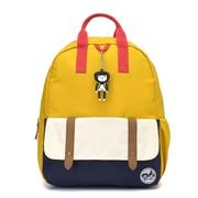 Zip & Zoe Plecak Junior Mustard Color Block