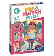 Ravensburger Mix&Match Puzzle Zawody