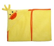 Zoocchini Ręcznik Mały Z Kapturem Kaczka