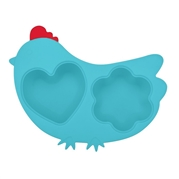 Innobaby Pojemnik Silikonowy Chicken Blue