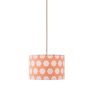 Kids Concept Lampa Wisząca Hexagon Apricot